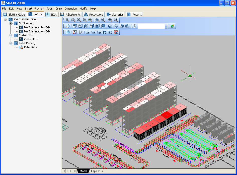 Slot3D – Lean Sigma Supply Chain